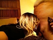 Hot CD T girl Kylee fucked by old sugar daddy