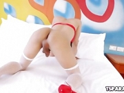 Asian Trans Cutie Proud Gets Herself Off