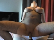 She Rides Like A Champ ! Creampie & Cum Play