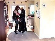Alison and Zara - Shiny Fetish T-Girls - Part 1
