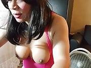 Hot Pink Silhousette Chemise 12