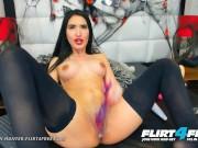 Nazanin Hunter on Flirt4Free - Hispanic Bi Sexual Babe with Big Tits DP