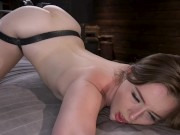 Danni is back and this time, in bondage