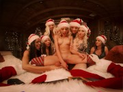 VRBangers Christams Orgy With Abella Danger And Her 7 Sexy Elves VR Porn