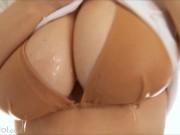 Ai Shinozaki - Big Tits Teen Bikini Shower [SOFTCORE NON-NUDE]
